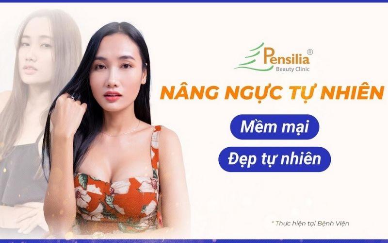 Địa chỉ nâng ngực tphcm pensilia