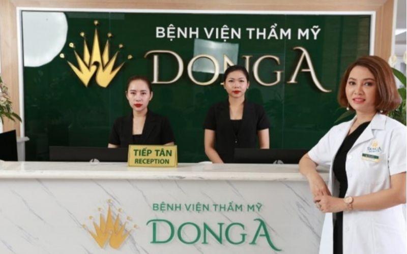 Địa chỉ phun môi TPHCM - Thẩm mỹ Đông Á